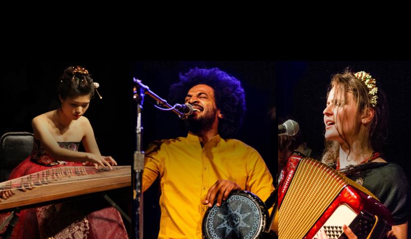 3 world musicians